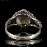 Antiques Atlas - Antique Georgian Ring 18ct Gold Circa 1800