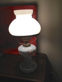 Antiques Atlas - 1930 Table Lamp In Porcelain