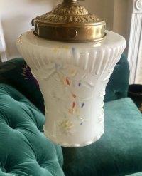 Antiques Atlas - Fine Quality Edwardian Enamelled Ceiling Lamp