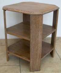An Oak Art Deco Coffee Table - Antiques Atlas