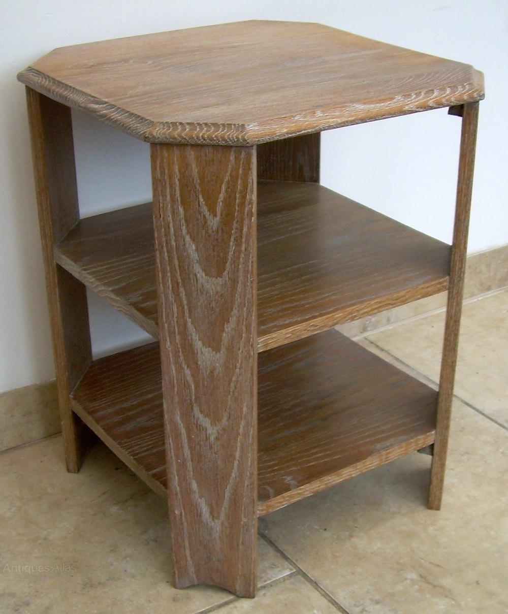 An Oak Art Deco Coffee Table