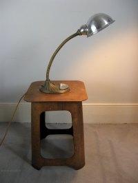 Antiques Atlas - 1940's Industrial Bendy Desk Lamp
