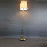 Antiques Atlas - Edwardian Brass Standard / Floor Lamp