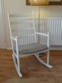 Antiques Atlas - Danish Rocking Chair Mid Century