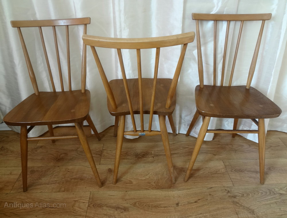 Antiques Atlas Retro Ercol Windsor Dining Chairs