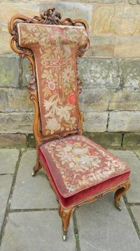 Superb Quality Rosewood Prayer Chair - Antiques Atlas
