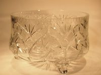 Antiques Atlas - Crystal Scroll Footed Fruit / Punch ...