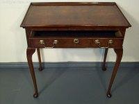 Antique Walnut Silver / Side Table - Antiques Atlas