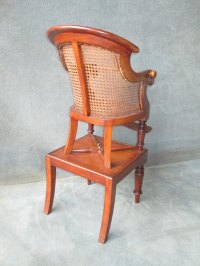 A Victorian Mahogany Bergere Childs High Chair - Antiques ...