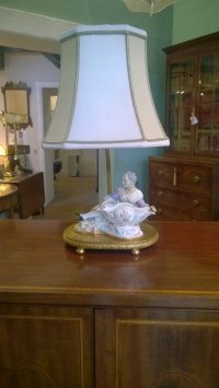 Antiques Atlas - Porcelain Table Lamp