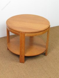 Art Deco Oak Coffee / Side Table - Antiques Atlas