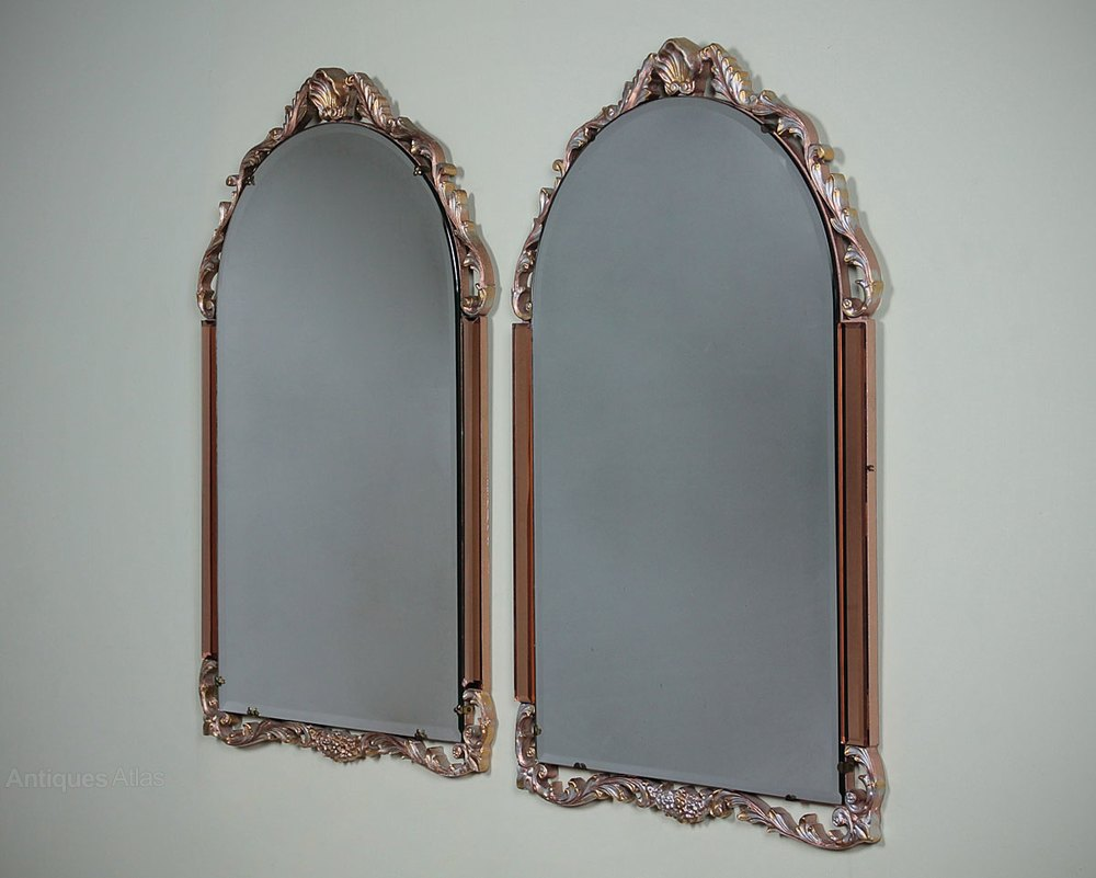 Art Deco Style Mirror Antiques Atlas Art Deco Style Wall Mirrors C 1950