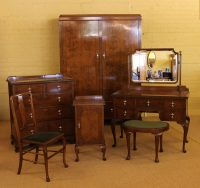 Edwardian Oak Bedroom Suite C.1910. - Antiques Atlas