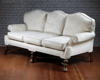 Large Queen Anne Style Sofa C.1910. - Antiques Atlas