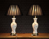 Antiques Atlas - Pair Oriental Style Table Lamps C.1960.