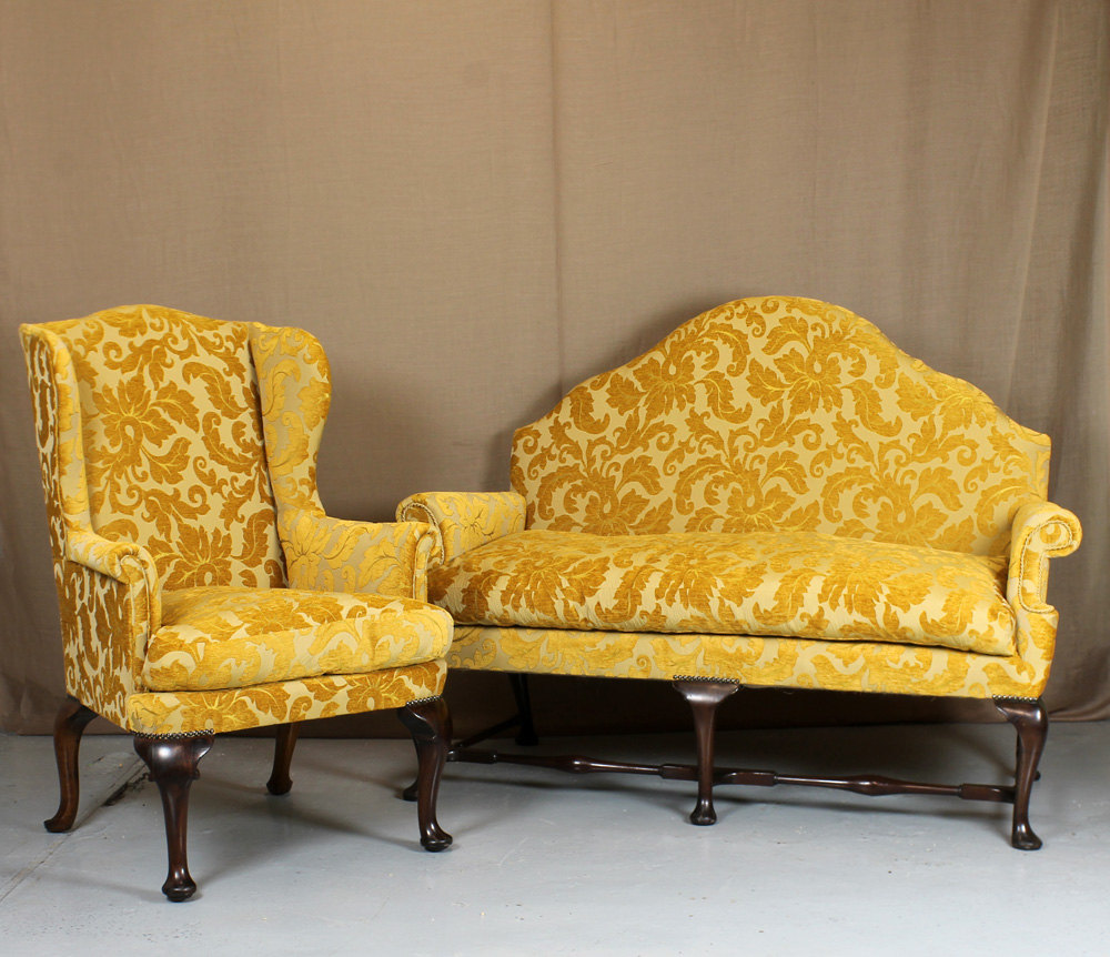 Sofa Queen Anne Queen Anne Sofa Armchair Antiques Atlas