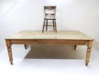 Large Farmhouse Kitchen Table - Antiques Atlas