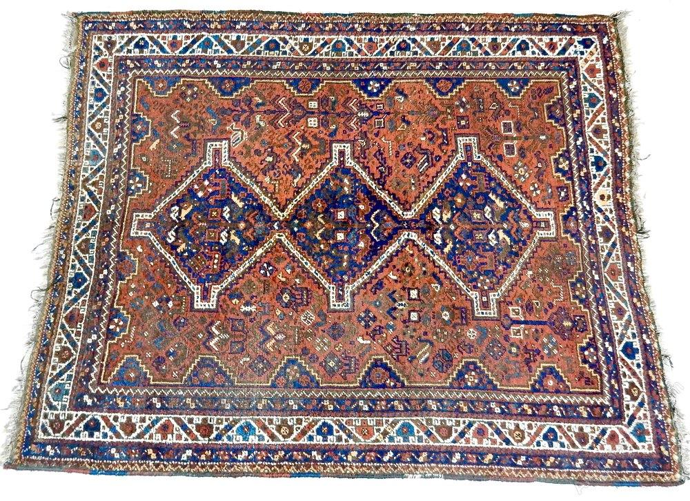 Antiques Atlas Large Shiraz Rug
