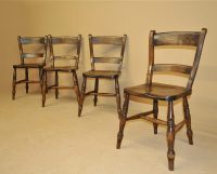 Set Of 4 Barback Kitchen Chairs - R3470 - Antiques Atlas