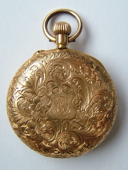 Antique Watches Antiques Atlas - Superb Victorian 18k Gold Fob Pocket Watch
