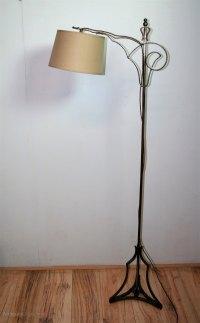 Antiques Atlas - Vintage Wrought Iron Floor Lamp