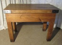 Butchers Table, Chopping Block Kitchen Island - Antiques Atlas