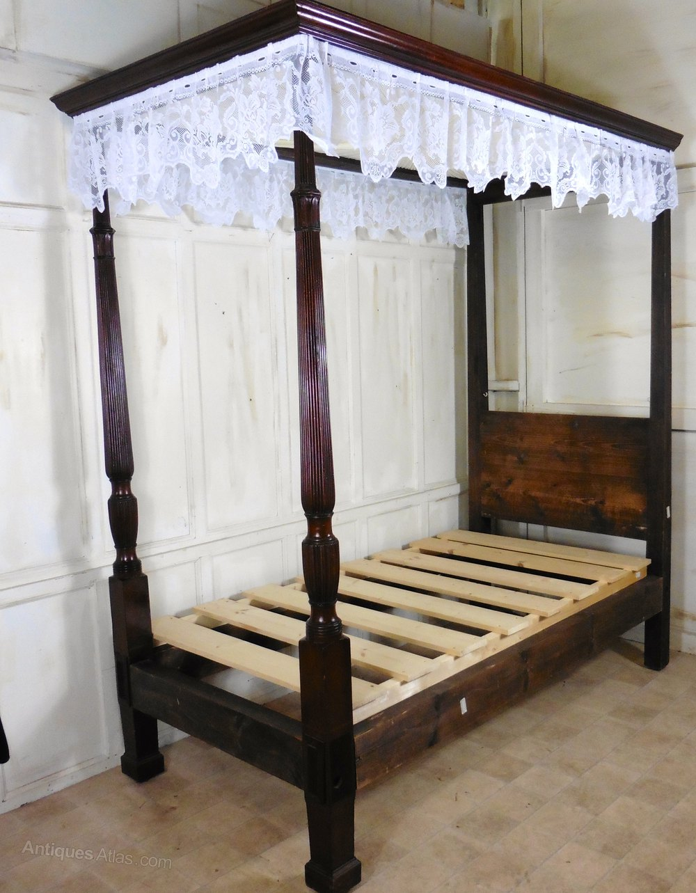 Single Four Poster Bed Charming Victorian Single Mahogany Four Poster Bed Antiques Atlas
