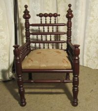 North African Throne Chair Or Sofa Chair - Antiques Atlas