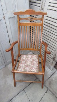 Antique Folding Campaign Chair - Antiques Atlas