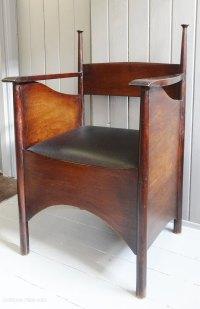 Antiques Atlas - Charles Rennie Mackintosh Style Armchair