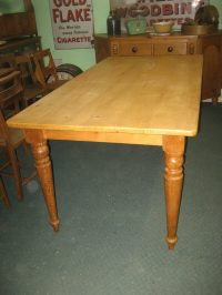 Antiques Atlas - Pine Kitchen Table