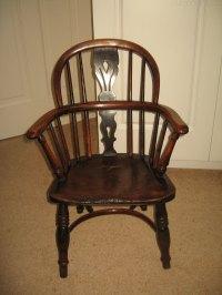 Antique Childs Windsor Arm Chair - Antiques Atlas