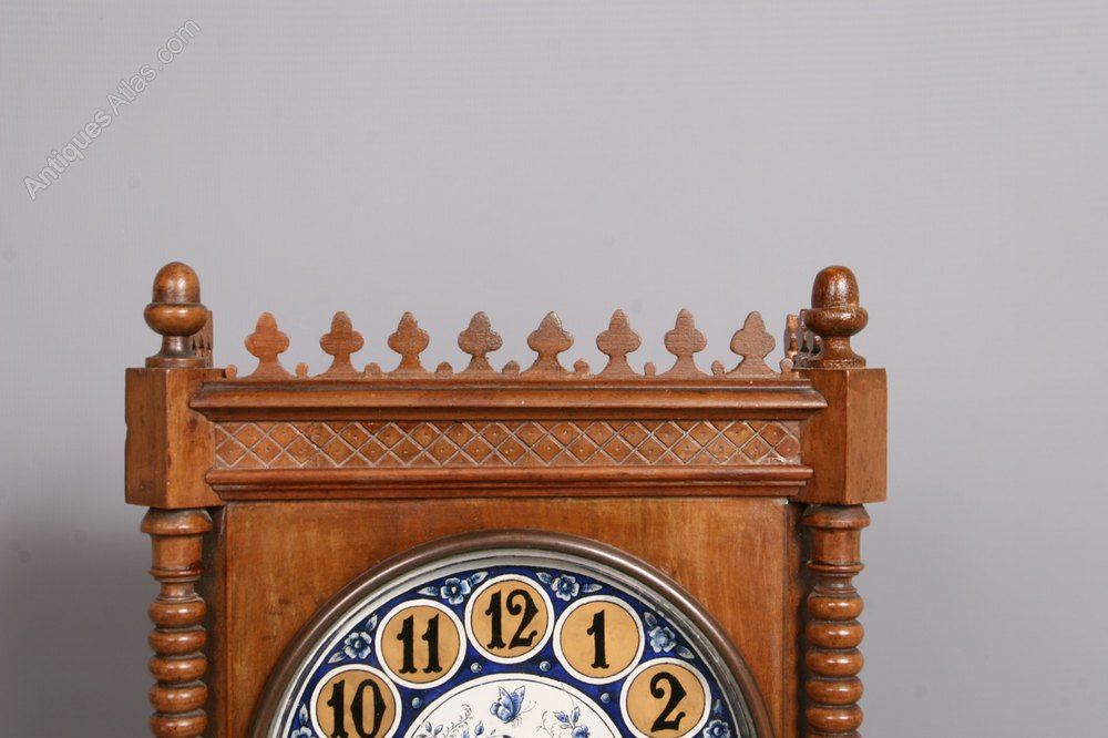 Mantel Height Antiques Atlas - Victorian Aesthetic Movement Mantel Clock