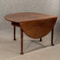 Antique Dining Table Drop Leaf Gate Leg English - Antiques ...