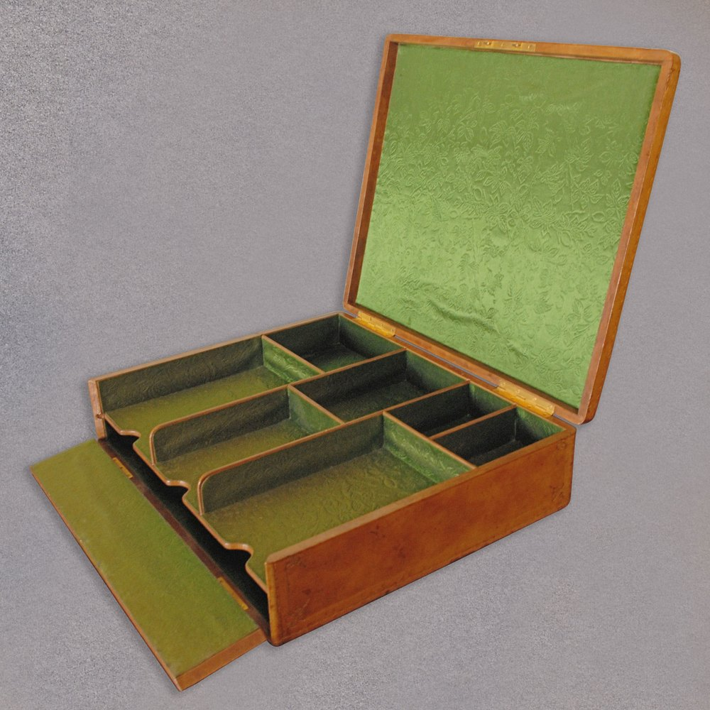 Stationary Boxes Antiques Atlas Antique Leather Stationery Box A Forster Wien