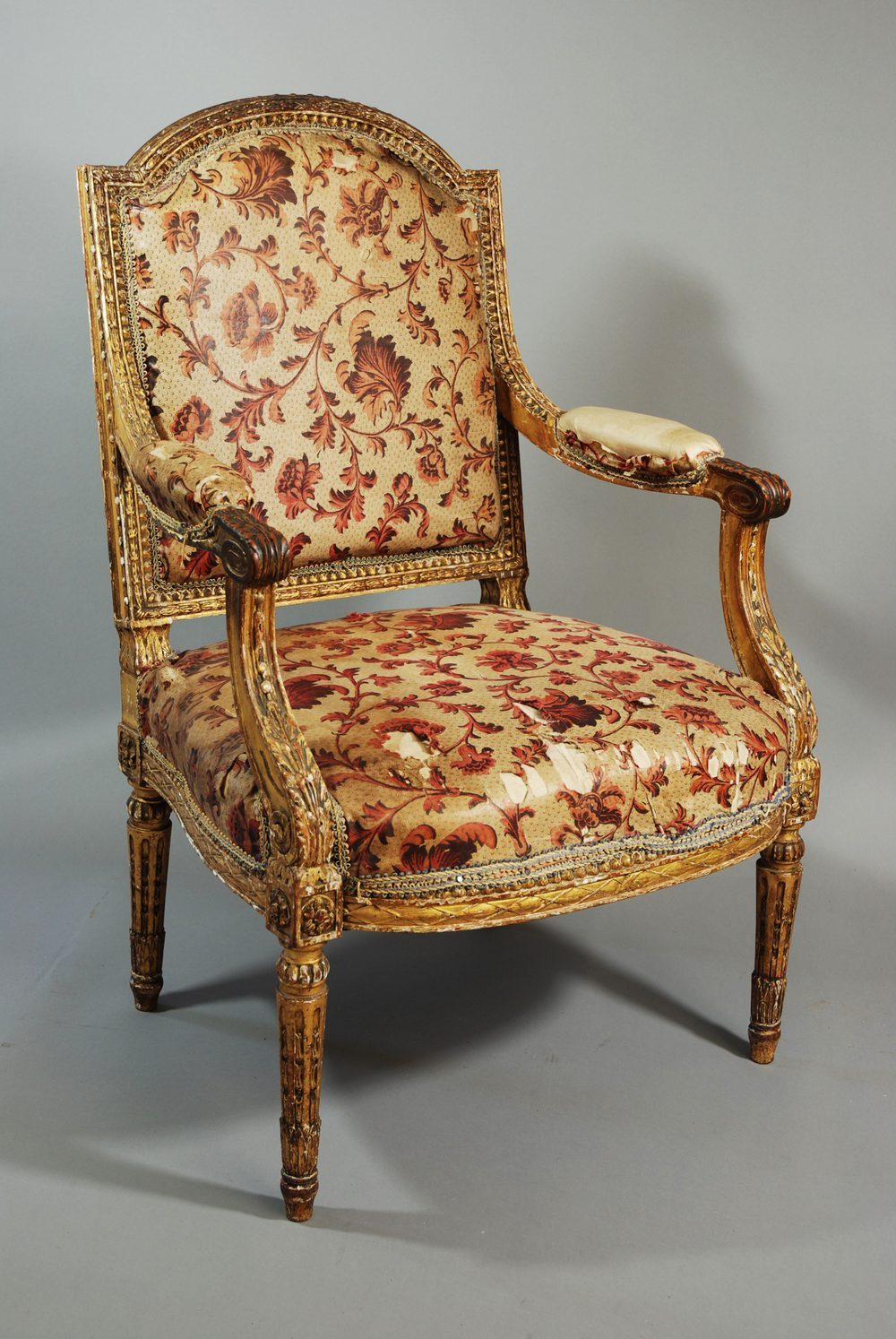 Fauteuil Shabby Chic Mid 19th Century French Fauteuil Antiques Atlas