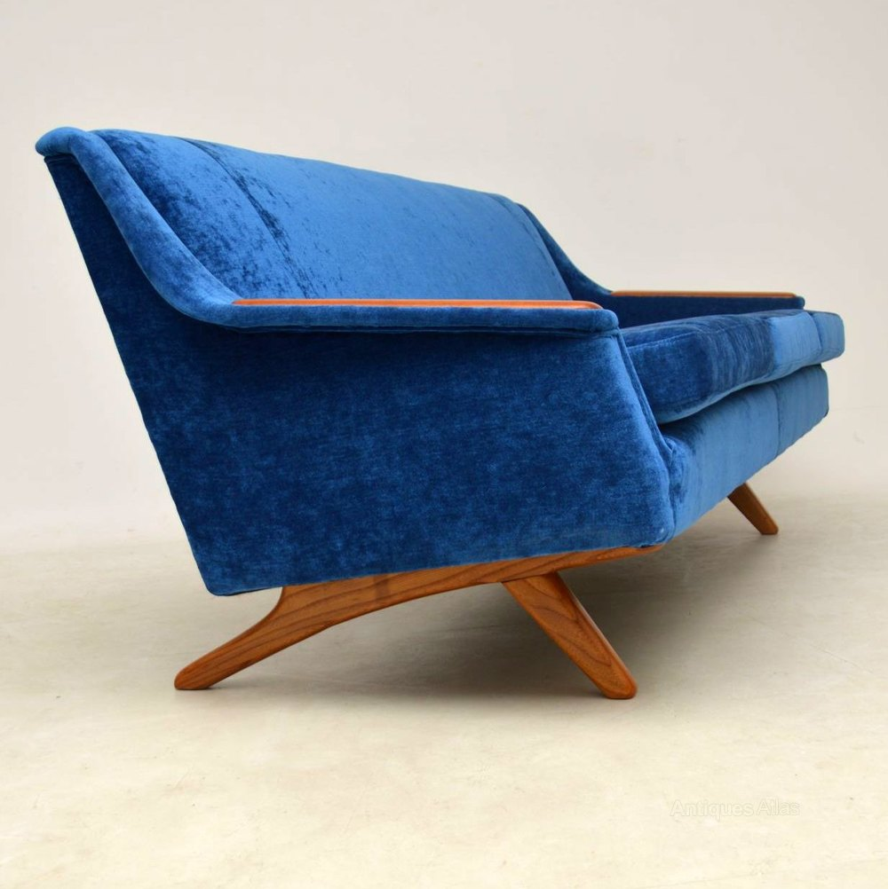 Sofas Retro 1960 S Vintage Sofa By Illum Wikkelso For Westnofa