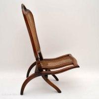 Antique Victorian Mahogany Folding Chair - Antiques Atlas