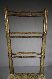 Regency Antique Child's Chair In Original Paint ...