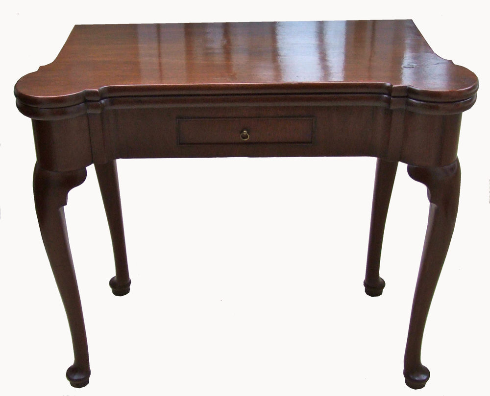 Georgian Mahogany Card Table Antiques Atlas