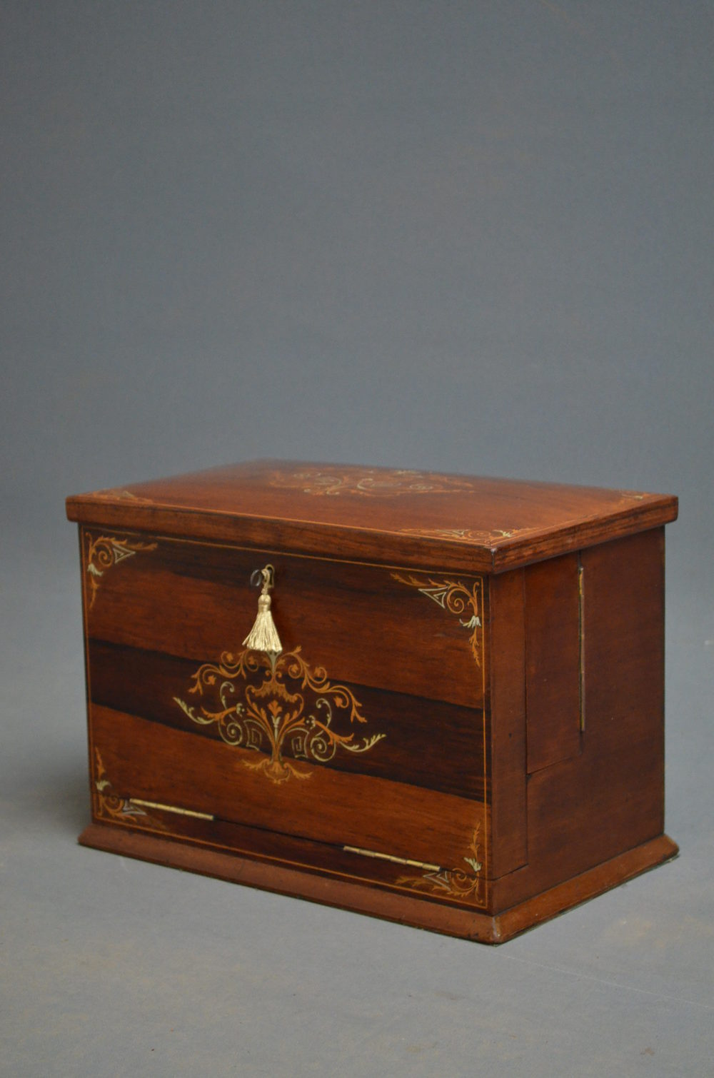 Stationary Boxes Victorian Rosewood Stationary Box Writing Slope