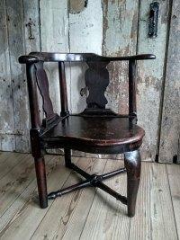 Primitive Corner Chair - Antiques Atlas