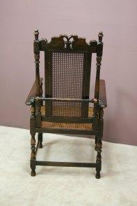 A Victorian Adjustable Bergere Armchair - Antiques Atlas