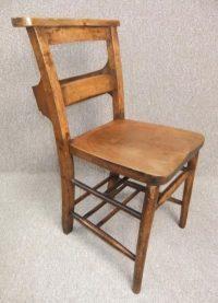 Church Chair, Chapel Chair - Antiques Atlas