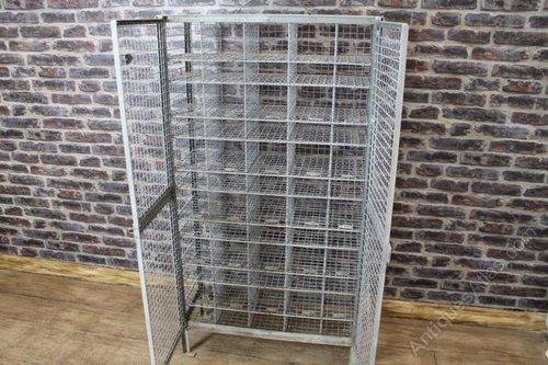 Antiques Atlas Metal Mesh Storage Rack Shoe Rack Pigeon