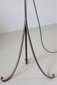 Antiques Atlas - 20th Century Wrought Iron Floor Lamp