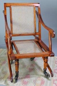 Antiques Atlas - Victorian Bergere Sedan Chair. U361