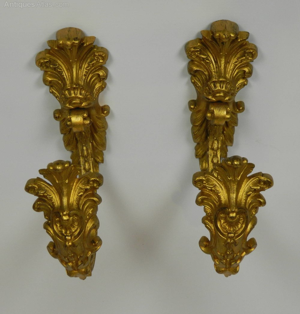 Antique Bronze Curtain Tie Backs Antiques Atlas French Gilt Bronze Antique Curtain Tie Backs