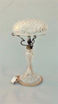 Antiques Atlas - Antique Cut Glass Crystal Table Lamp