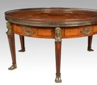 Mahogany Inlaid Coffee Table - Antiques Atlas